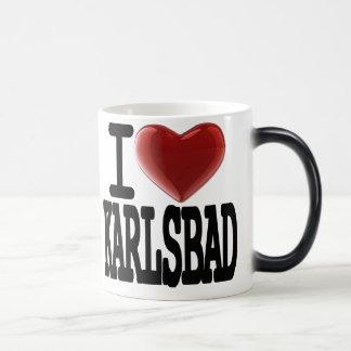 I Love KARLSBAD 11 Oz Magic Heat Color-Changing Coffee Mug
