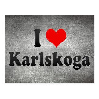 I Love Karlskoga, Sweden Postcard