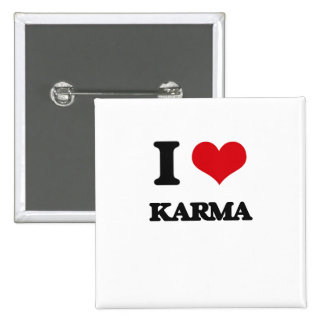 I Love Karma Buttons