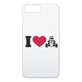 I love Kart racing iPhone 8 Plus/7 Plus Case