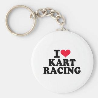 I love Kart racing Keychain
