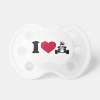 I love Kart racing Pacifier