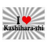 I Love Kashihara-shi, Japan Postcard