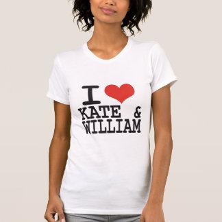 I LOVE KATE AND WILLIAM TSHIRTS