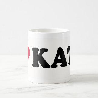 I LOVE KATE COFFEE MUG
