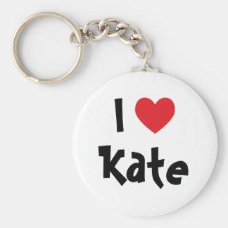 I Love Kate Keychain