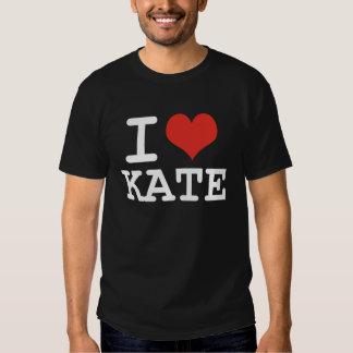 I LOVE KATE T-SHIRTS