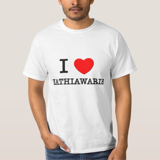 I Love Kathiawaris (Horses) Shirts