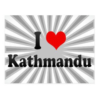 I Love Kathmandu, Nepal Postcard