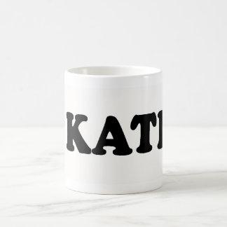 I LOVE KATHY COFFEE MUG