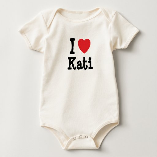 I love Kati heart T-Shirt