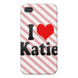 I love Katie iPhone 4 Covers