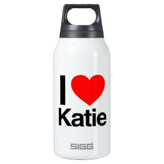 i love katie 10 oz insulated SIGG thermos water bottle