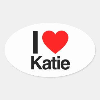 i love katie stickers