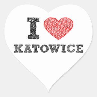 I-love-Katowice Sticker