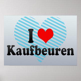 I Love Kaufbeuren, Germany Poster