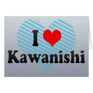I Love Kawanishi, Japan Cards