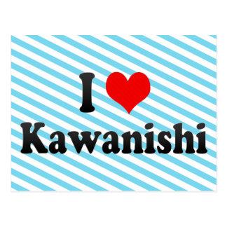 I Love Kawanishi, Japan Postcards