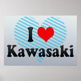 I Love Kawasaki, Japan Poster