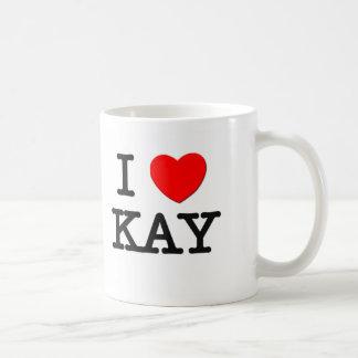 I Love Kay Mugs
