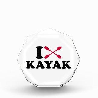 I love Kayak Acrylic Award