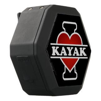 I Love Kayak Black Bluetooth Speaker