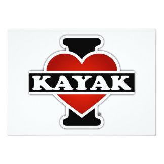 I Love Kayak Card