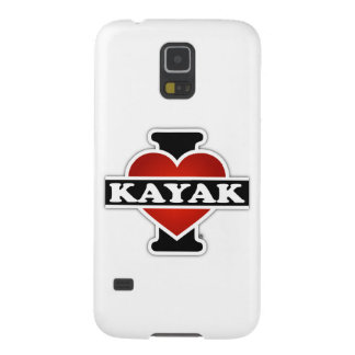 I Love Kayak Case For Galaxy S5