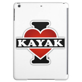 I Love Kayak Cover For iPad Air