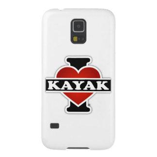 I Love Kayak Galaxy S5 Cases