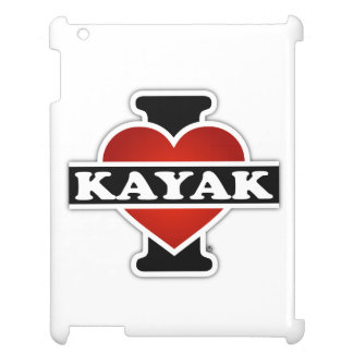 I Love Kayak Cover For The iPad