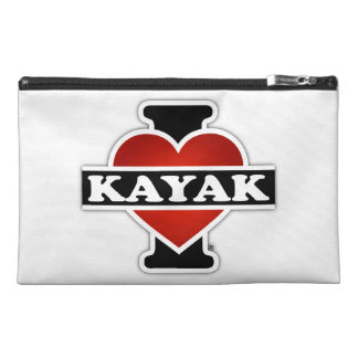 I Love Kayak Travel Accessory Bags