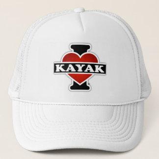 I Love Kayak Trucker Hat