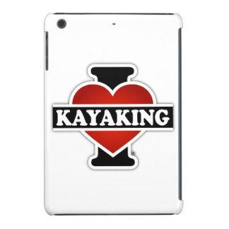 I Love Kayaking iPad Mini Cases