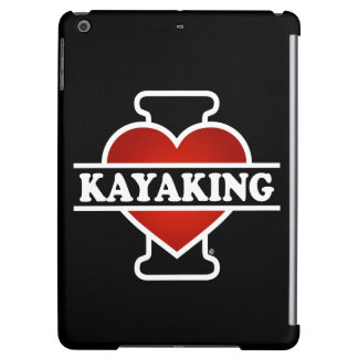 I Love Kayaking Cover For iPad Air