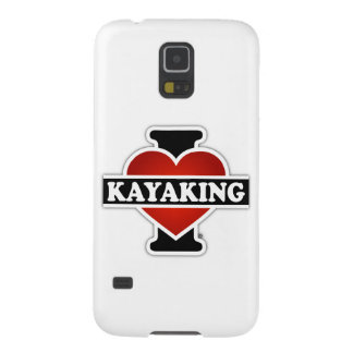 I Love Kayaking Galaxy S5 Cases