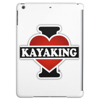 I Love Kayaking iPad Air Case