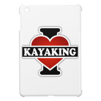 I Love Kayaking iPad Mini Case
