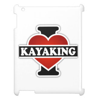 I Love Kayaking Cover For The iPad