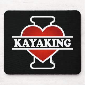 I Love Kayaking Mouse Pad