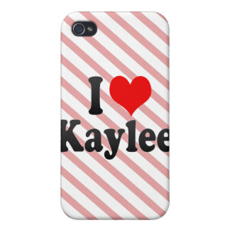 I love Kaylee iPhone 4/4S Case