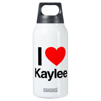 i love kaylee 10 oz insulated SIGG thermos water bottle