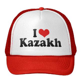 I Love Kazakh Trucker Hat