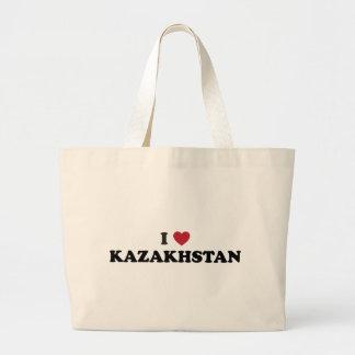 I love Kazakhstan Tote Bags