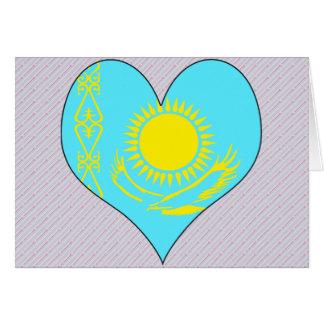 I Love Kazakhstan Greeting Card