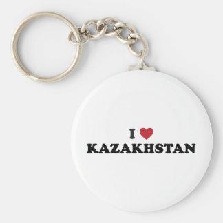 I love Kazakhstan Key Chains