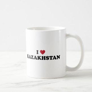 I love Kazakhstan Classic White Coffee Mug