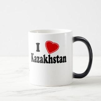 I Love Kazakhstan 11 Oz Magic Heat Color-Changing Coffee Mug