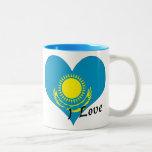 I love Kazakhstan Mugs