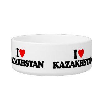 I LOVE KAZAKHSTAN PET BOWL